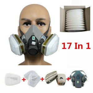 3M Respirator maska 17 u 1 Zastitina Maska za farbanje