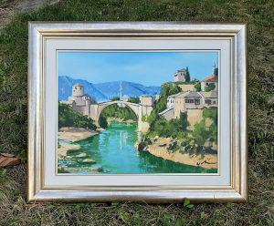 Umjetnicka slika, Mostar, Stari Most