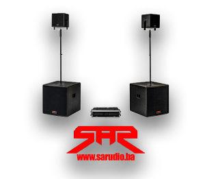 SAR MOZA zvučnički sistem