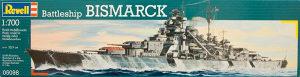 Maketa broda brod Bismarck Battleship 1/700