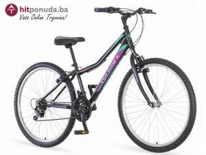 """Bicikl 26""""/14"""" VENSSINI MODENA crno/ljubičasta/tirkiz"""