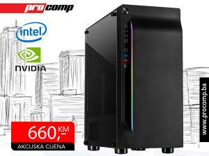 Gaming računar Intel i5 4570 Nvidia GTX 1650 4GB