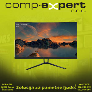 """LC-Power Gaming Monitor 24"""" 144 Hz FHD Samsung panel"""