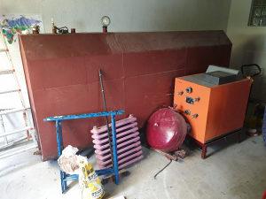 Peć za centralno grijanje - nafta/plin - sa kotlom