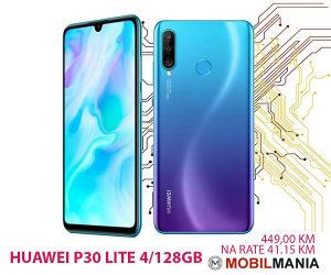 Mobitel Huawei P30 LITE 4/128GB 2 godine garancije