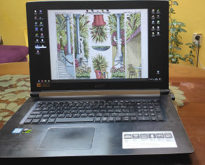 GAMING LAPTOP ACER I5-8th/GTX 1060 6GB/16GB RAM/SSD M.2
