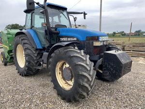 Traktor new holland tm 165