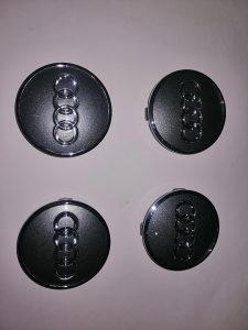Čepovi poklopci za alu felge Audi. Novo orginal