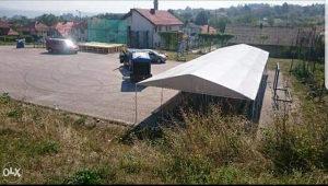 Izdajem šator 19.5x5.5 za svadbe itd