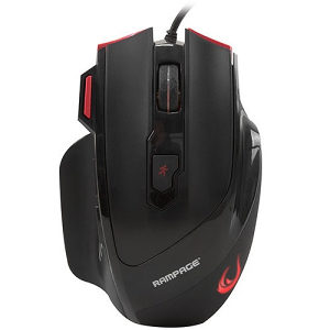 Rampage SMX-R17 X-RAPIER Crni gaming mis (9323)