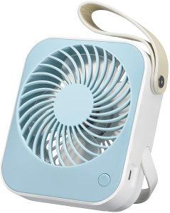 prijenosni ventilator USB stolni ultra tih  2000 mAh
