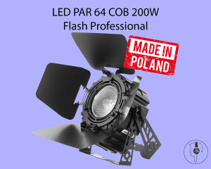 LED PAR 64 COB 250W MK2 Flash Professional