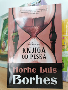Knjiga od peska Horhe Luis Borhes