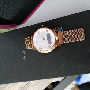 Lenovo Smart Watch X Rose Gold