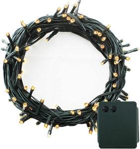 LED svjetla 400 baterija sa bajama svjetlucavim