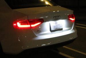 LED osvjetljenje tablica Audi Passat