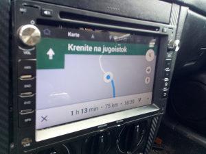 Auto radio dvd navigacija
