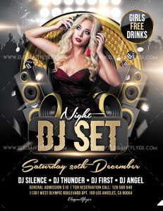 Plakati za bar, club, caffe, event
