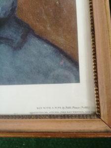 Slika Picasso Djecak sa lulom Print