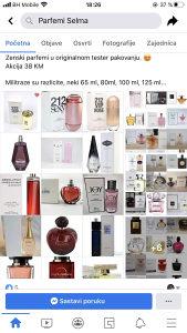 Testeri parfemi