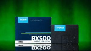 Crucial BX500 1TB / 960GB SSD Novo!!!