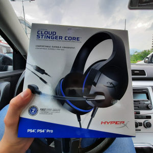 HyperX Cloud Stinger Core PS4 Playstation 4 NOVO NOVO