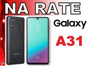 Samsung Galaxy A31 na rate