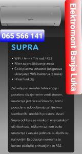AZURI Klima 12 SUPRA INVERTER -22° Wi-Fi Banja Luka