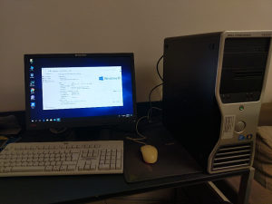 """I7 920(w3520)/6gb/LCD 19""""/tast.+mis"""