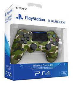 Sony Dualshock 4 Green Camouflage (PS4) Dzojstik