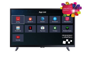 "TV 32"" SMART ANDROID VIVAX 32S60T2S2SM WiFi, SNIZENO!"