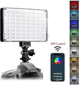 GVM RGB-10S LED, kamera svijetlo, NP-F550 NP-F570