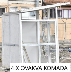PVC kiosk (boks) - 16 m² prostora