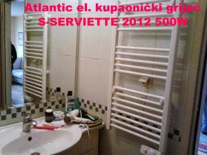 Atlantic električni radijator S-SERVIETTES 500W