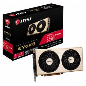 MSI RX 5700 8GB GDDR6 EVOKE GP OC PCIE