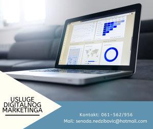 Nudim usluge vođenja društvenih mreža i marketinga