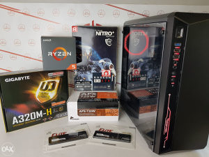 Računar Gaming PC Ryzen 5 2600 // 16GB // RX570 8GB *