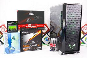 Gaming PC Prism 6; R7 2700; RX 590; 480GB SSD; 16GB