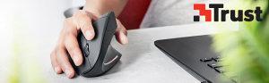 Trust bežični ergonomski miš Verto