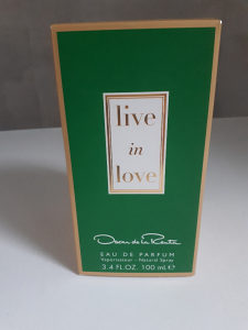 Parfem Live in Love Oscar de la Renta - idealan poklon
