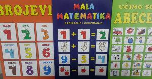 Brojevi , Mala matematika,Abeceda ( set )
