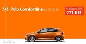 VW POLO 1.0 TSI Comfortline+ Operativni Leasing 271KM