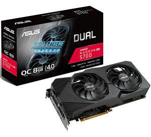 ASUS DUAL RX 5700 / RX5700 8GB GDDR6  Novo!!!