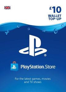 PS4 PS WALLET PSN STORE Gift Card 10 20 25 50 100 UK