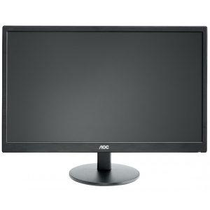 """AOC Monitor LED e2270swhn 21.5"""" FHD 5ms VGA HDMI"""