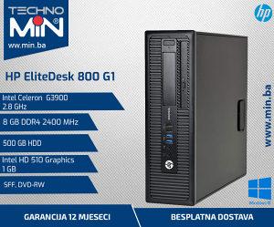 HP EliteDesk 800 G1, G3900 2.8/8/500/DVD-RW/SFF