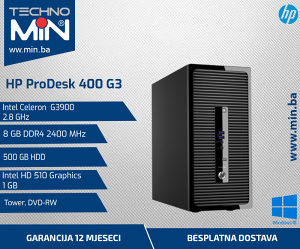HP ProDesk 800 G3, G3900 2.8/8/500/DVD-RW/Tower