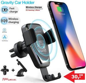 Auto držač i wireless punjač