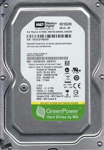 WD HDD 1TB SATA3 64MB RC