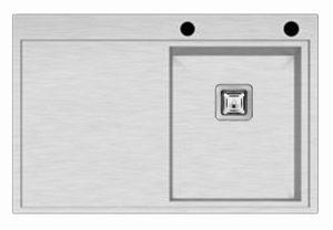 Podgradni INOX sudoper lijevi i desni 78x51,5 cm
